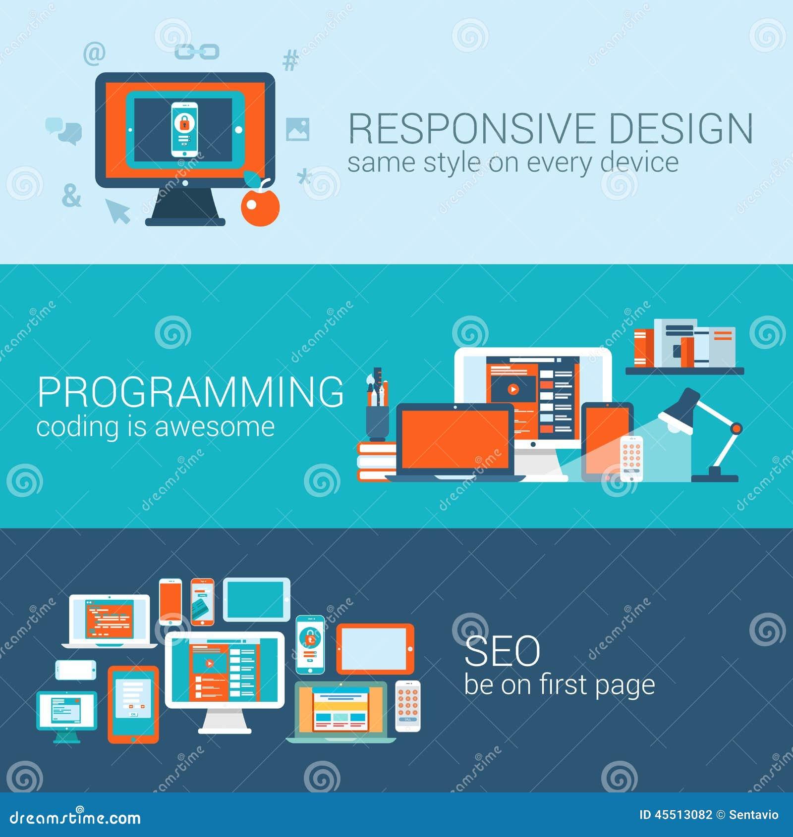 Google Web Designer Flat Design