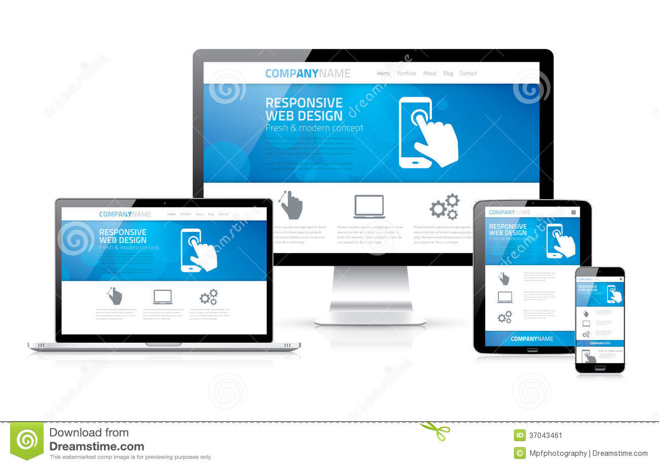 Web design sensible moderne extensible et flexible