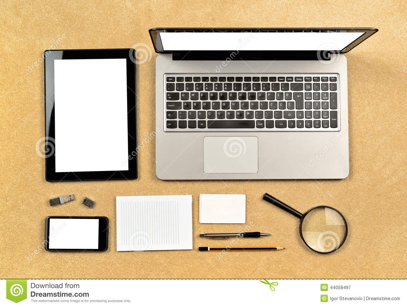 Web Designer Tools Stock Photo Image 44058497