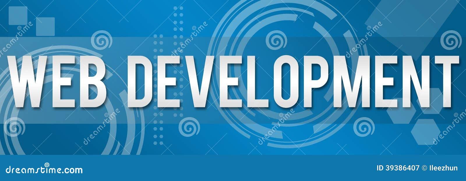 Web Development Business Background Banner Stock Image ...