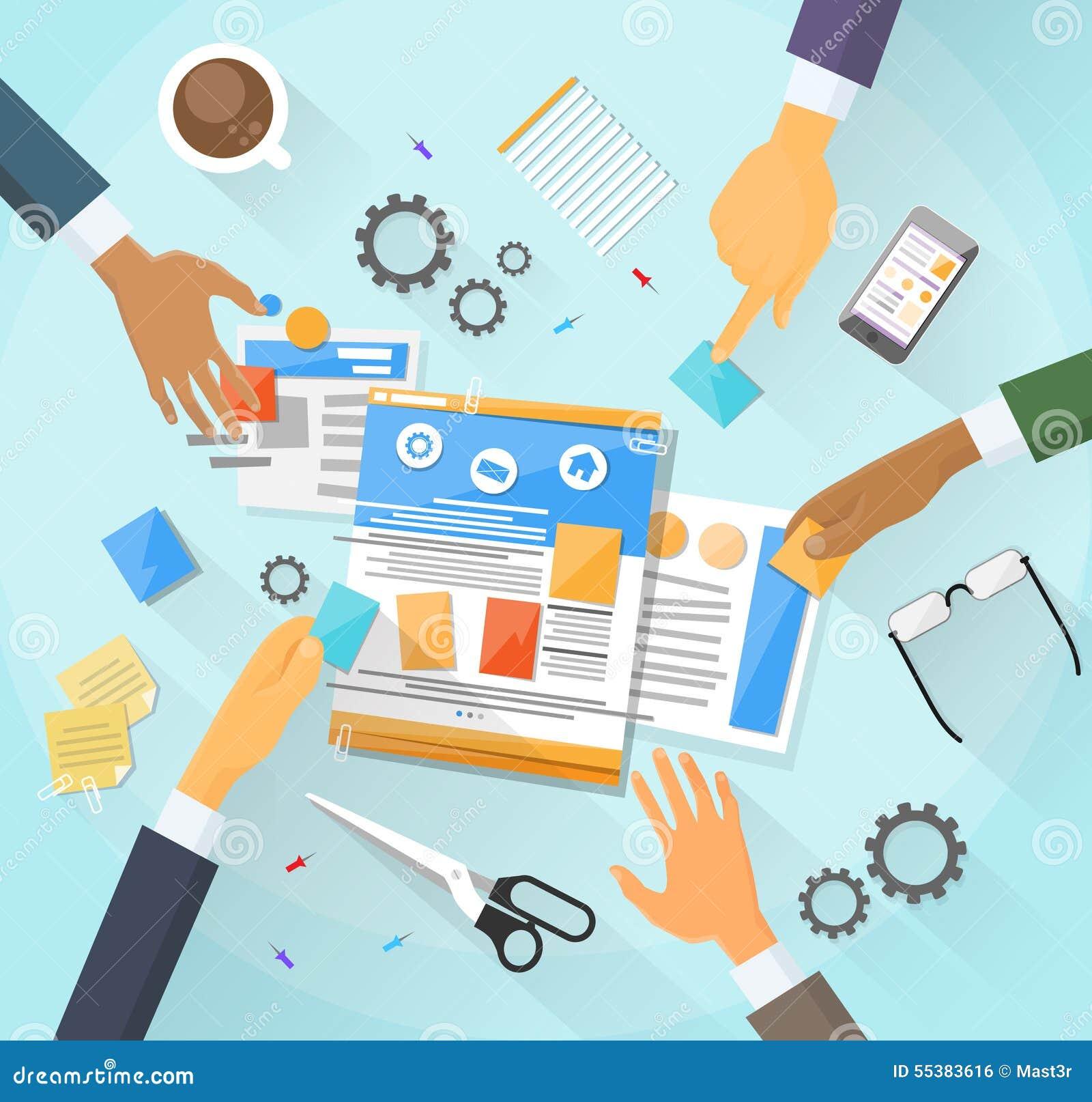 Web Development Create Design Site Building Team