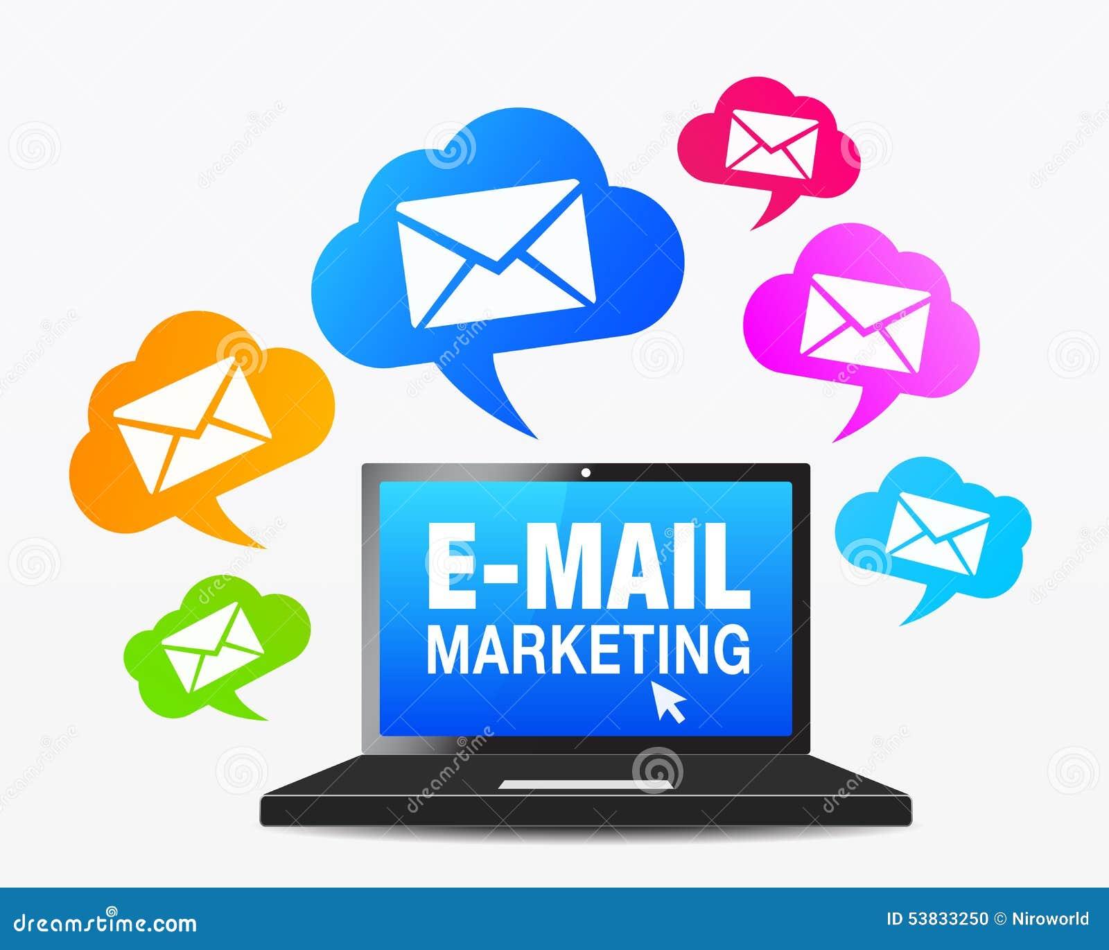 Web Email Marketing Icons