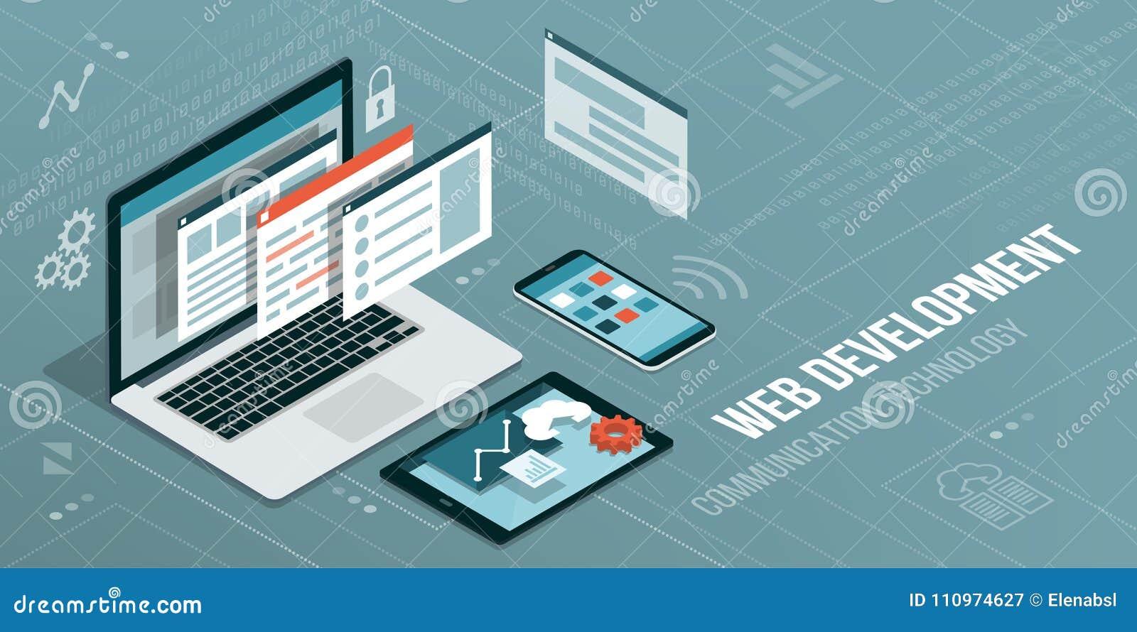 Web-Entwicklung und Kodierung