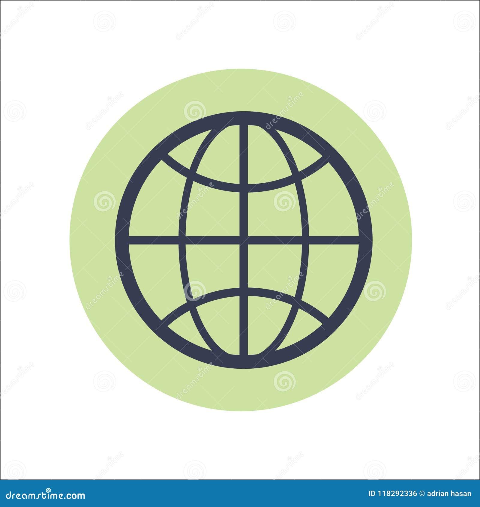 Web Flat Icon Vector