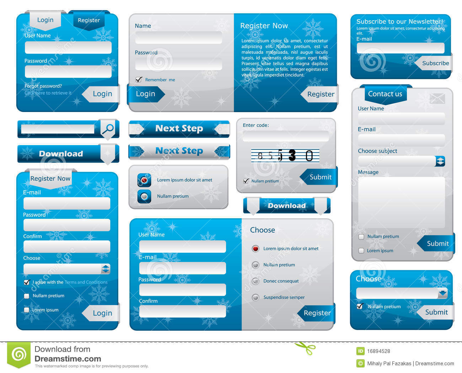 Astounding Web Form Design Christmas Edition Royalty Free Stock Photos Inspirational Interior Design Netriciaus