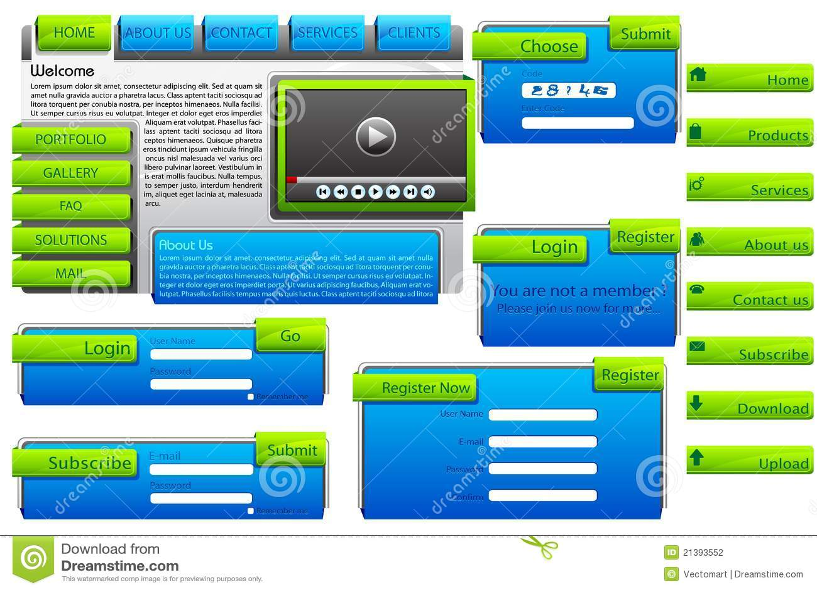 web form templates