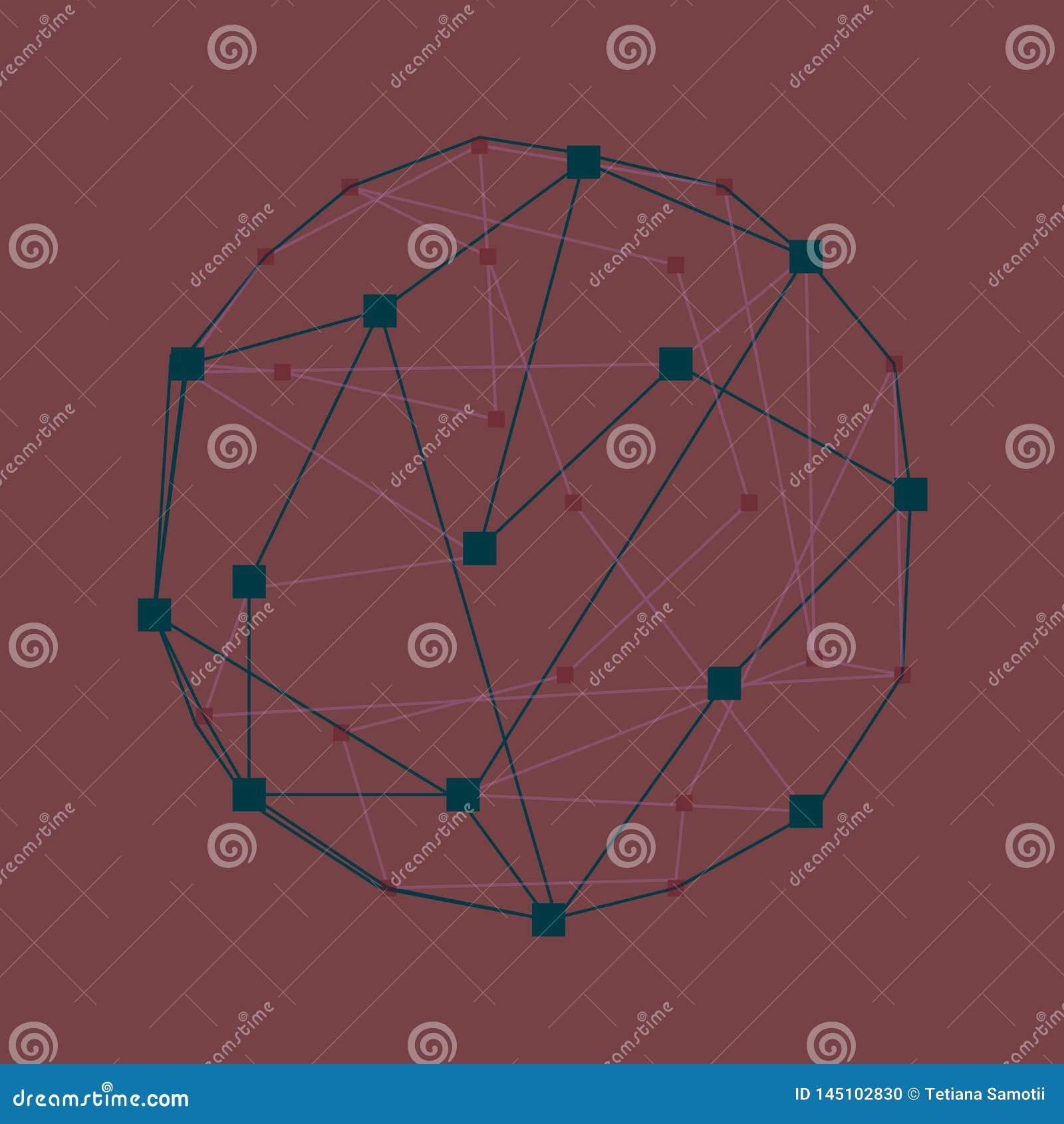 Web Fundo 3d colorido geom?trico abstrato