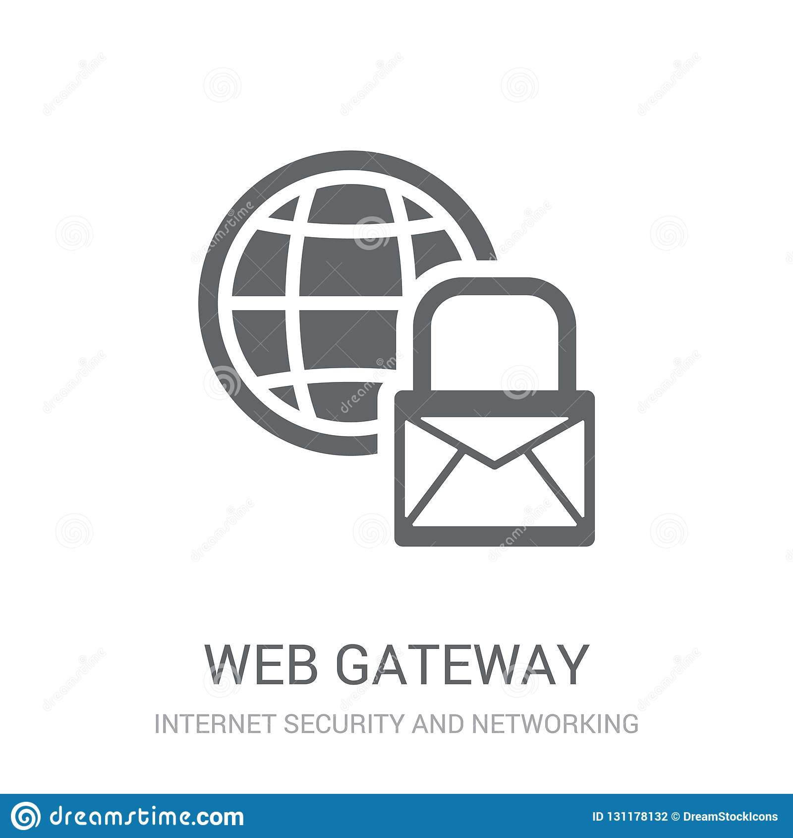 Web Gateway Icon. Trendy Web Gateway Logo Concept On White ...