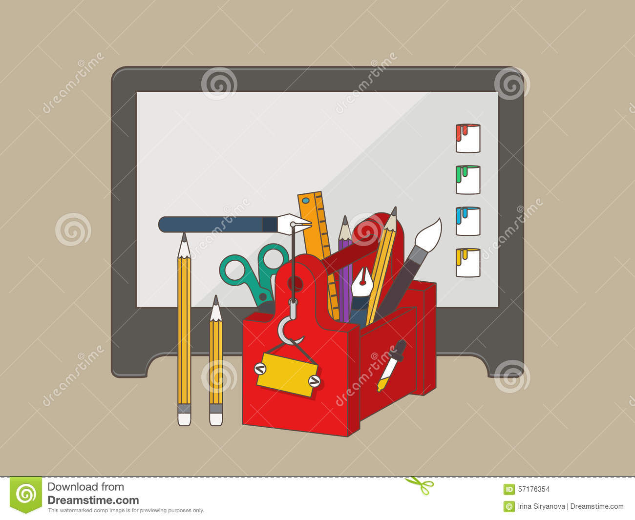 Web graphic design tools stock vector image 57176354 for Application design tools