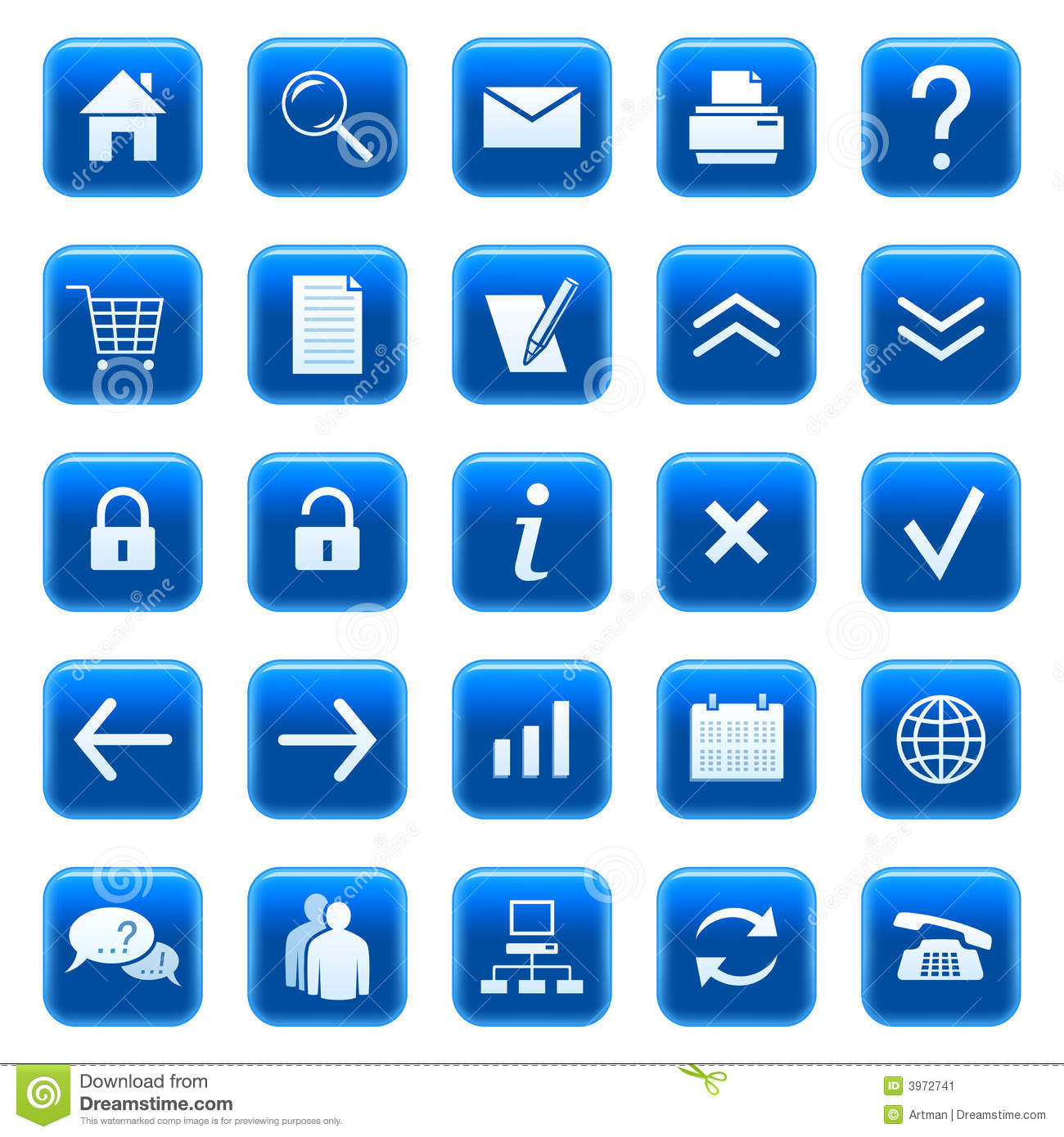 Web icons / buttons