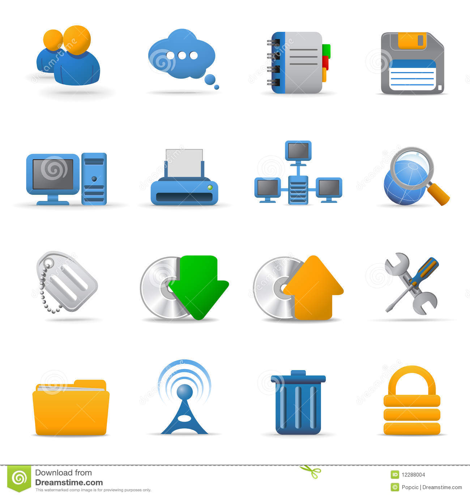 Web icons. Part 1