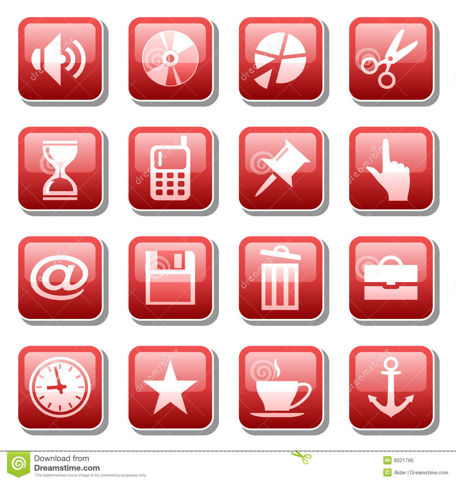 Web icons. Part three