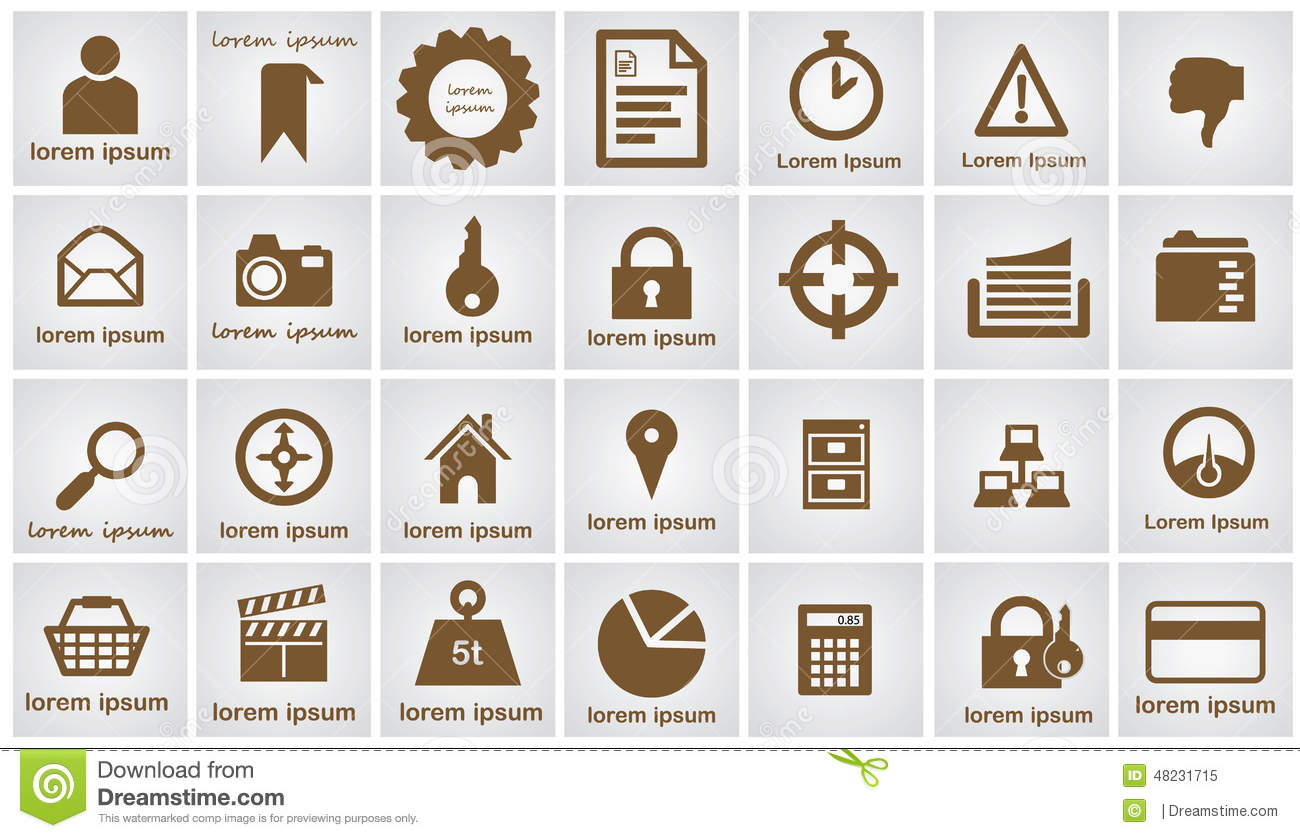 0407784e15 28 ready circle web icons. Easily change colors to meet your needs.