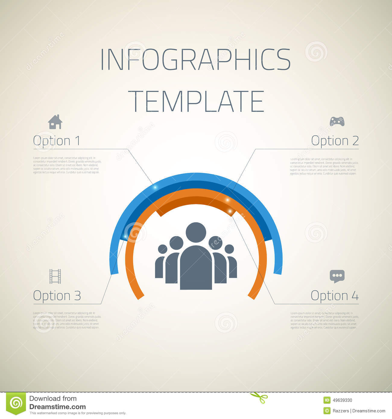 web infographic timeline pie template layout with stock vector