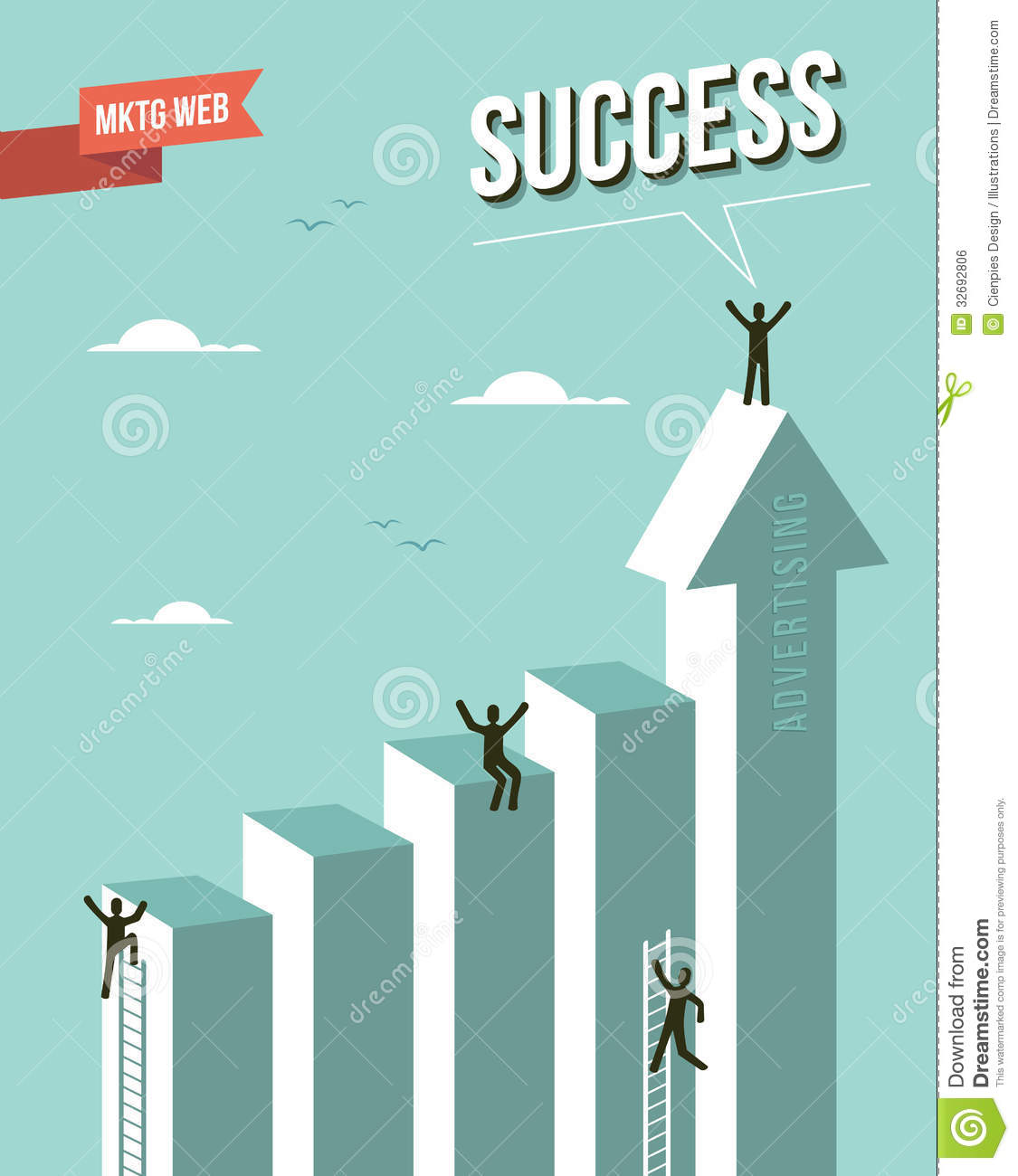 web marketing advertising success concept royalty stock image web marketing advertising success concept