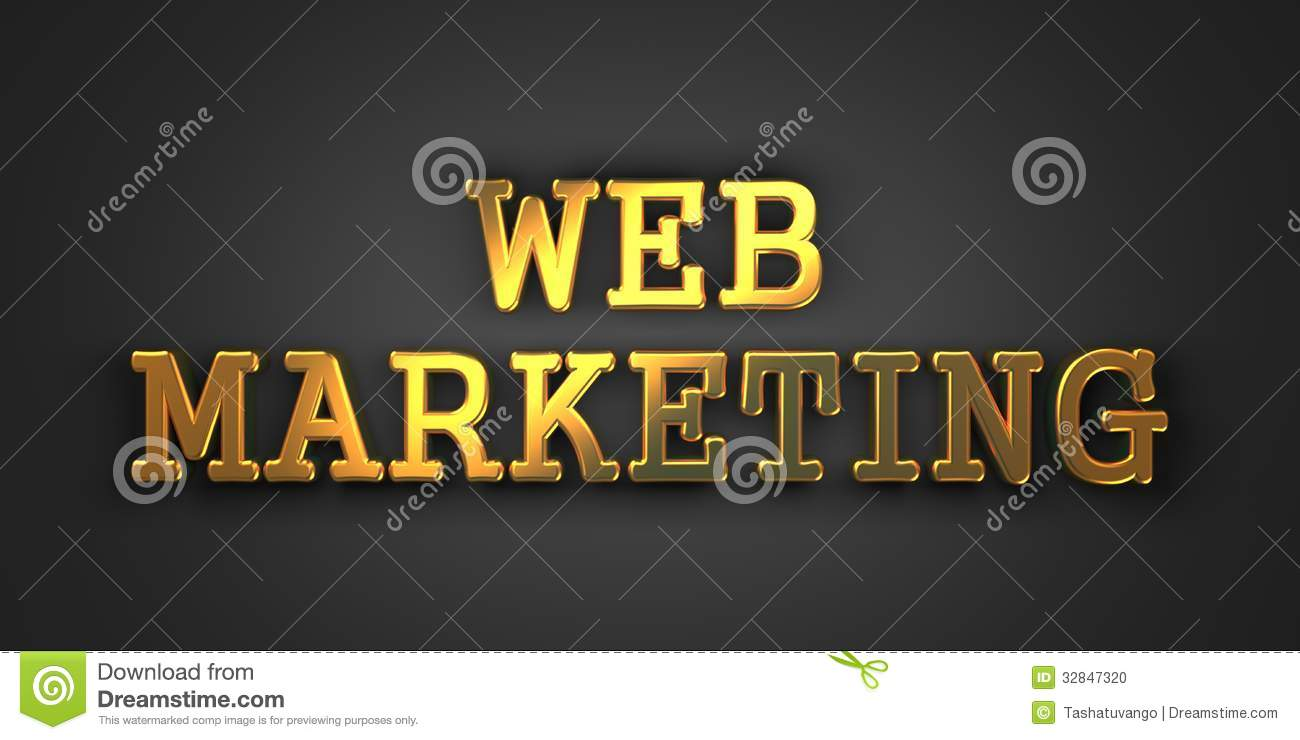 Web Marketing. Bedrijfsconcept.