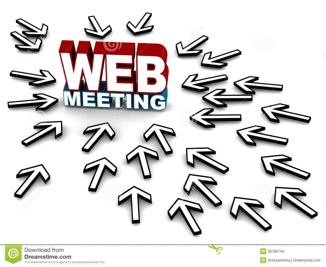 Web Meeting Stock Images Image 30786744