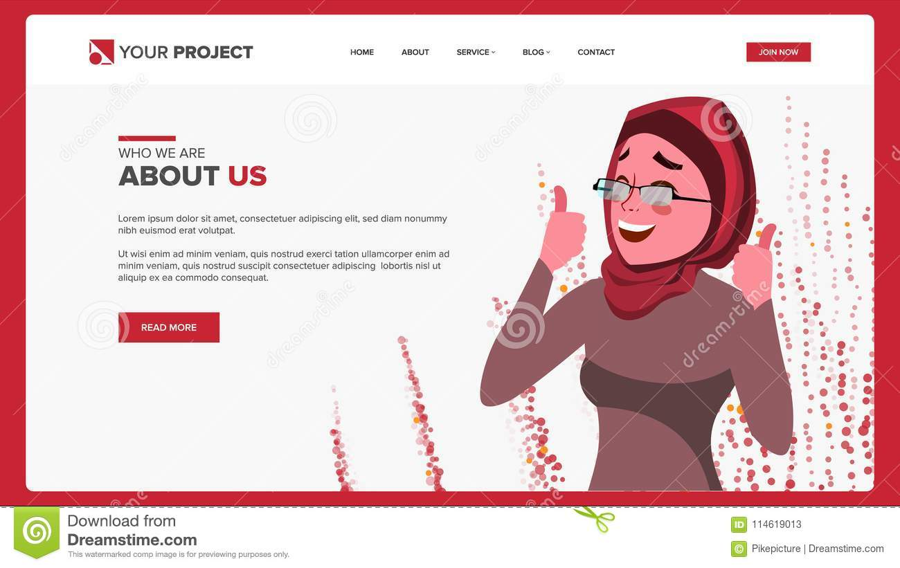 Web Page Design Vector. Business Reality. Site Scheme Template ...