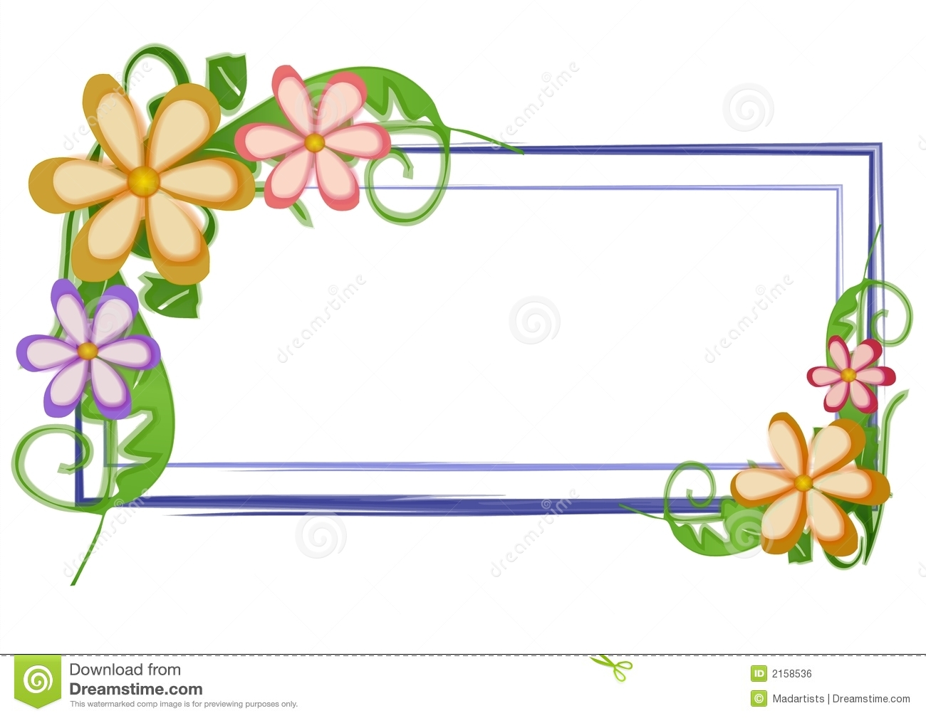 Web page logo flowers floral stock illustration for Flower tags template free