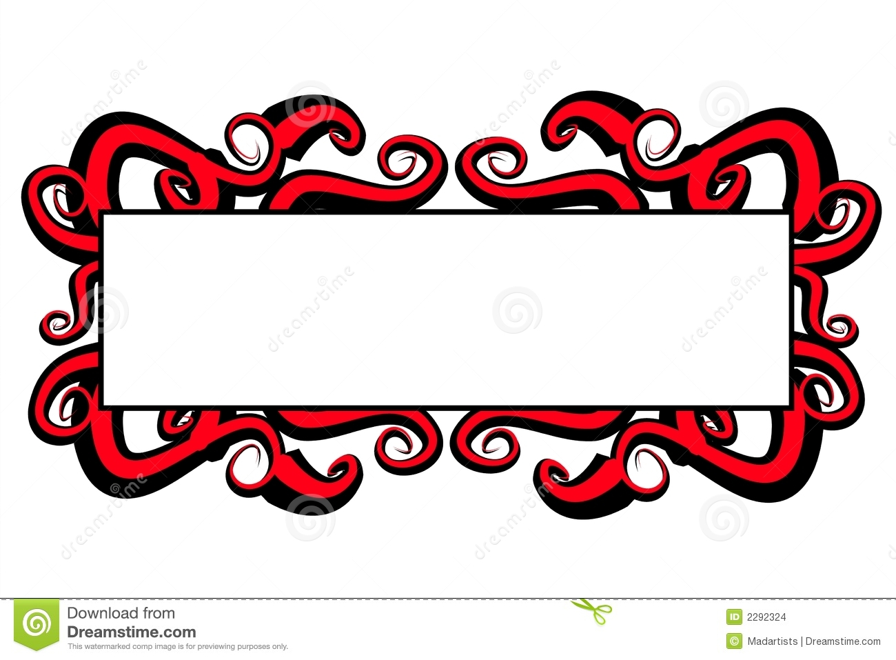 black and white decorative swirls logo stock illustration rh dreamstime com red and black bmw logos red black and gold logos