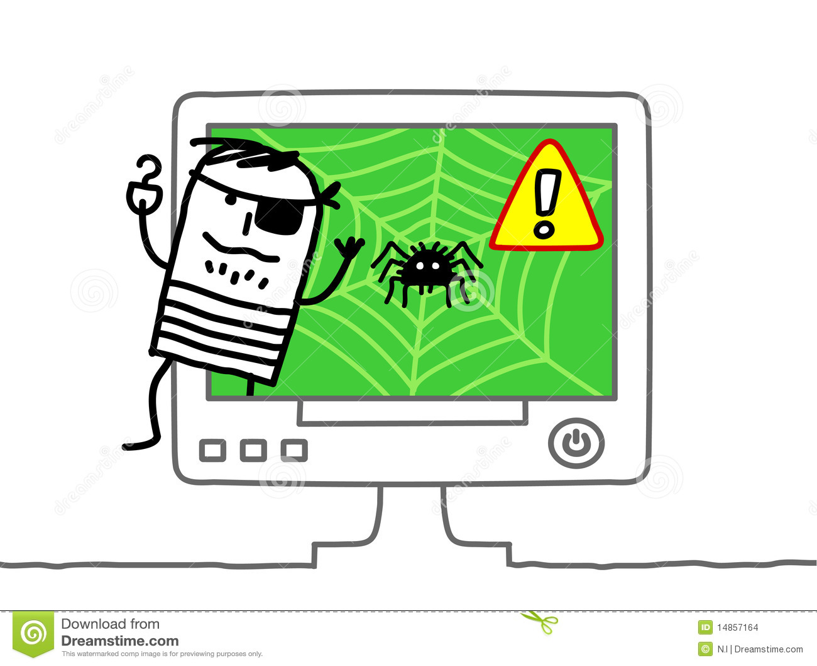 Web pirate
