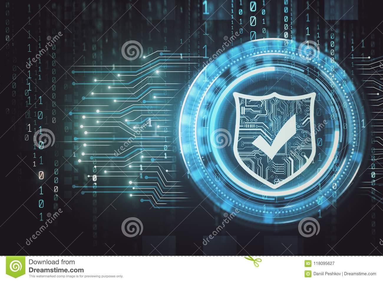Web safety and internet backdrop