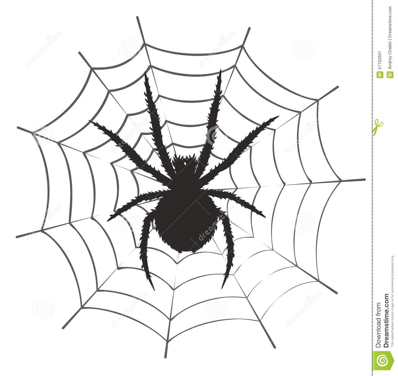Web With A Spider