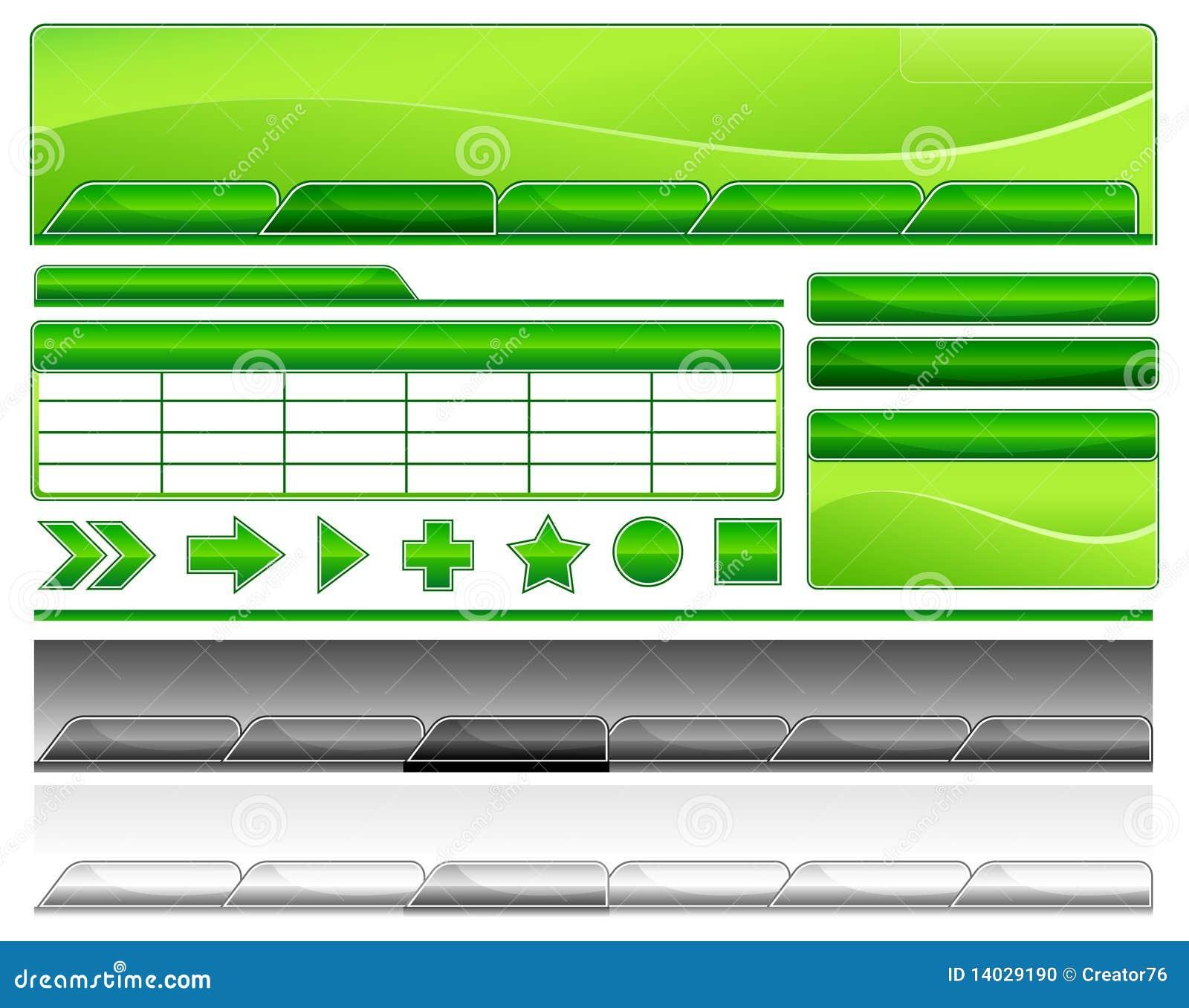 web templates stock photo image 14029190