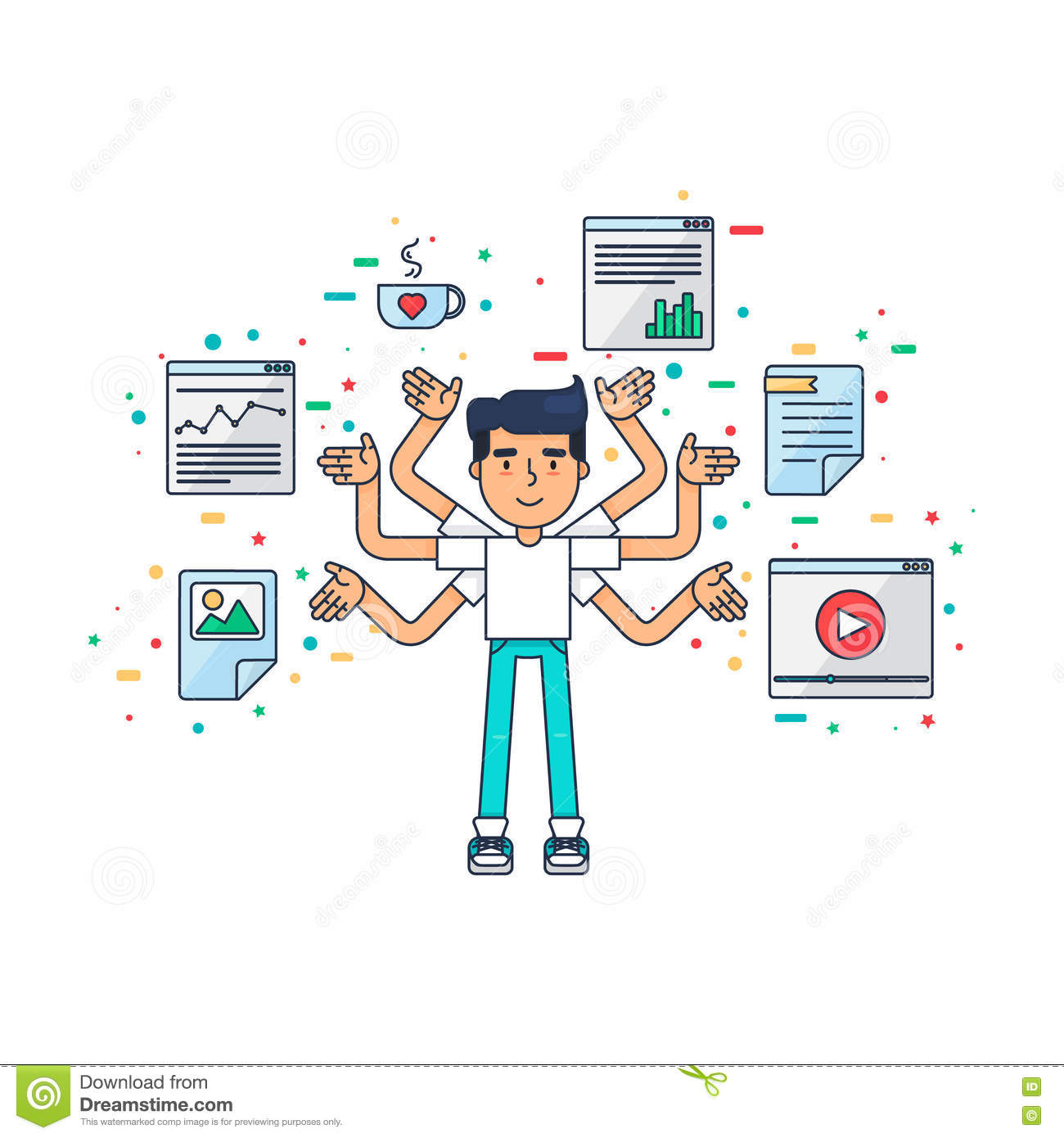 Web and ui ux designer stock illustration image 72949034 for Application design tools
