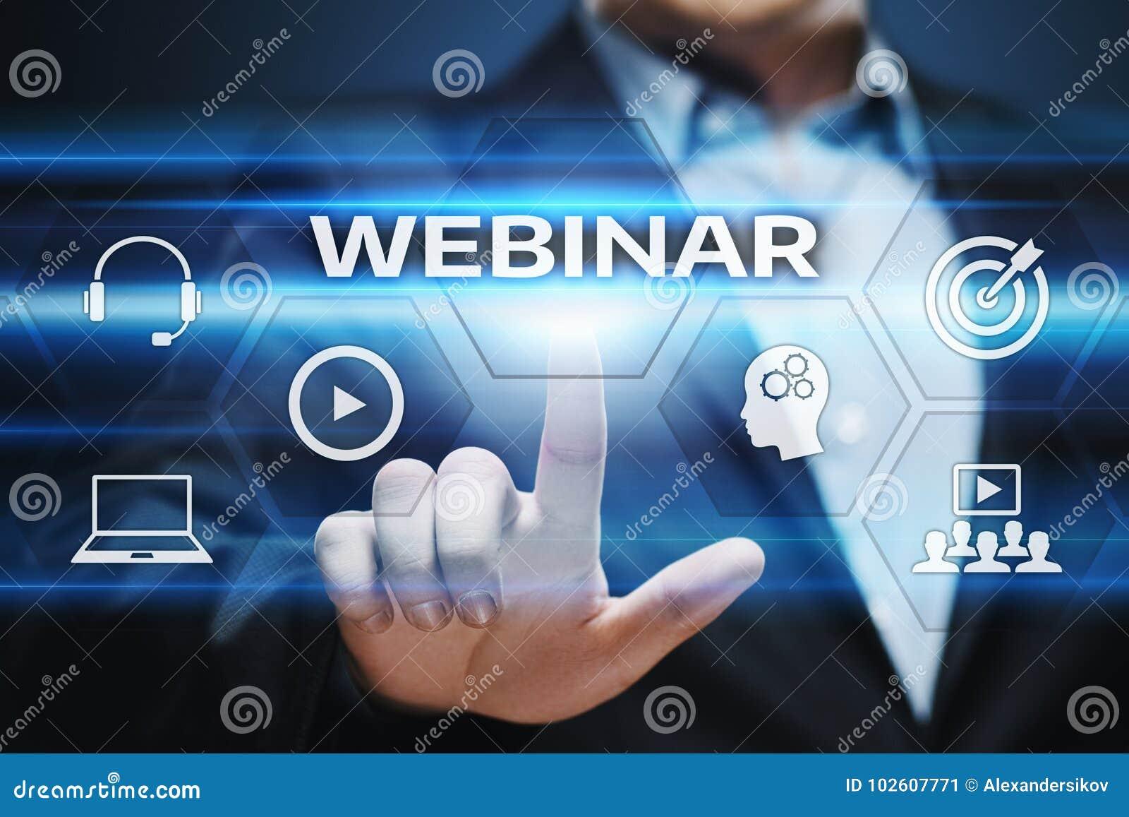Webinar e learning training business internet technology concept download webinar e learning training business internet technology concept stock image image of management publicscrutiny Images