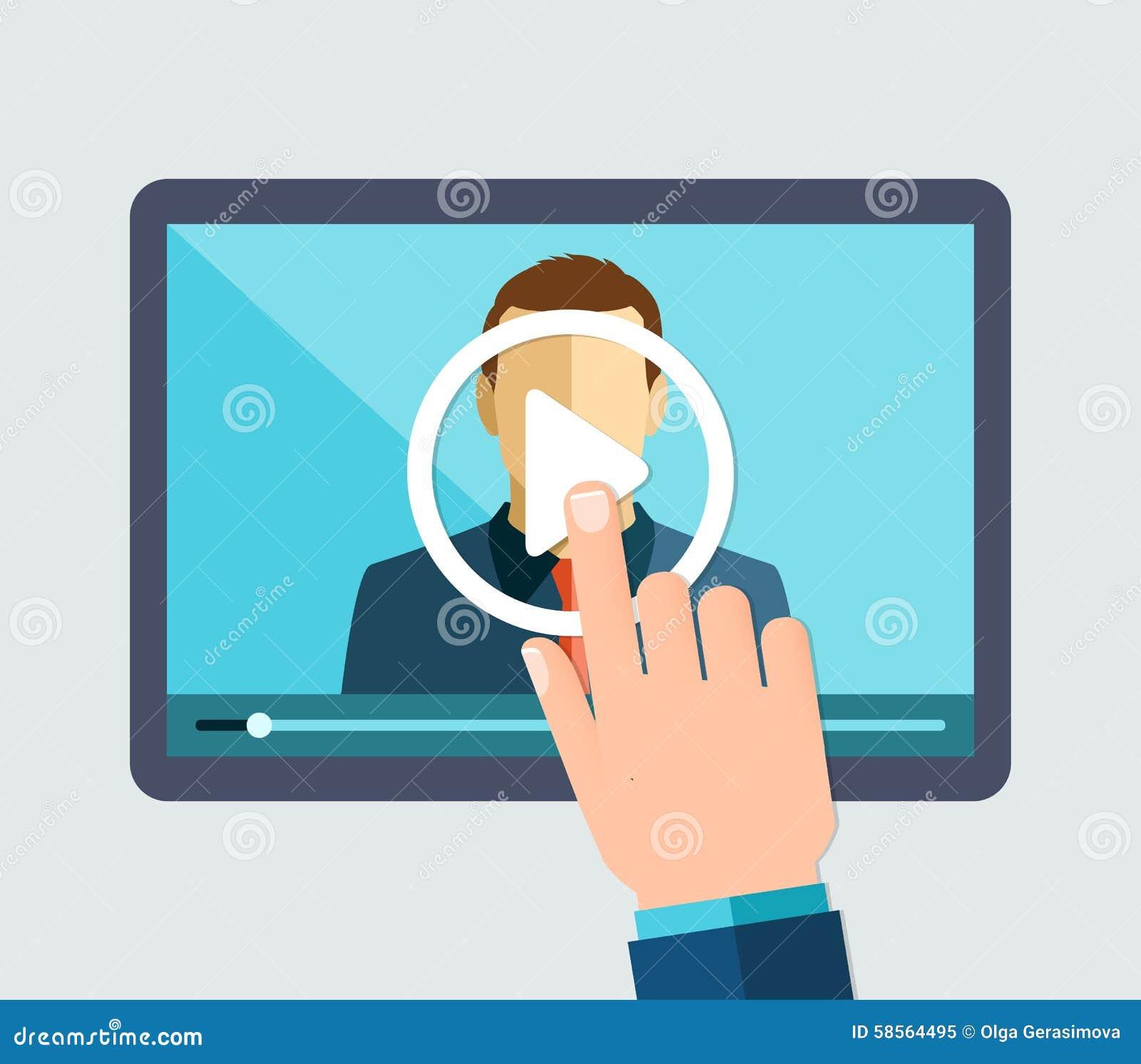 Webinar, online het leren, lezingen en opleiding