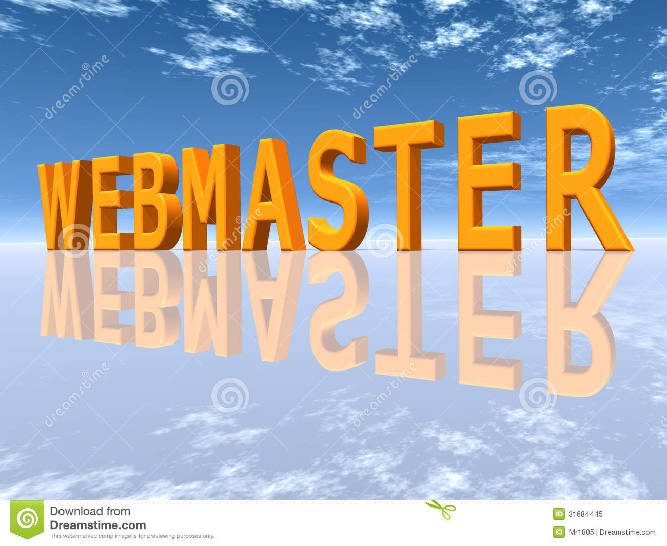 Webmaster Royalty Free Stock Photo