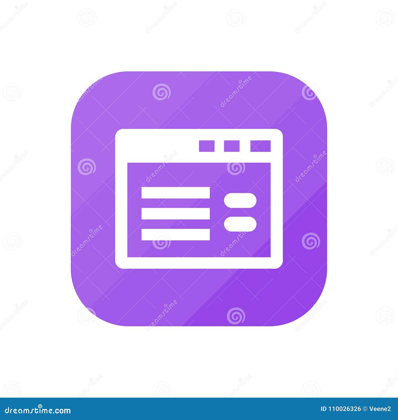Website - App Pictogram