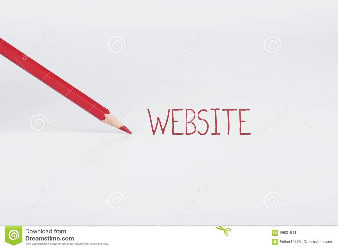 Website concept stock image  Image of professional, message