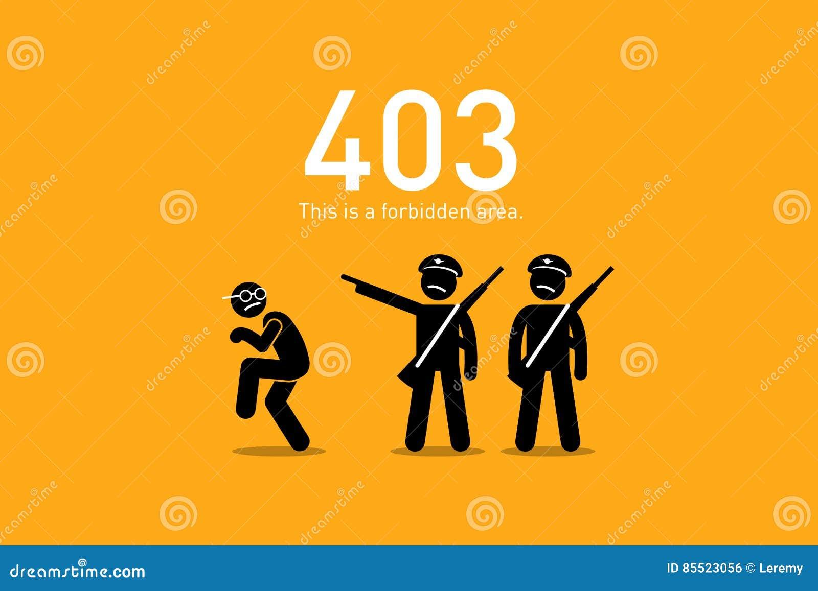 Error 403 what is it