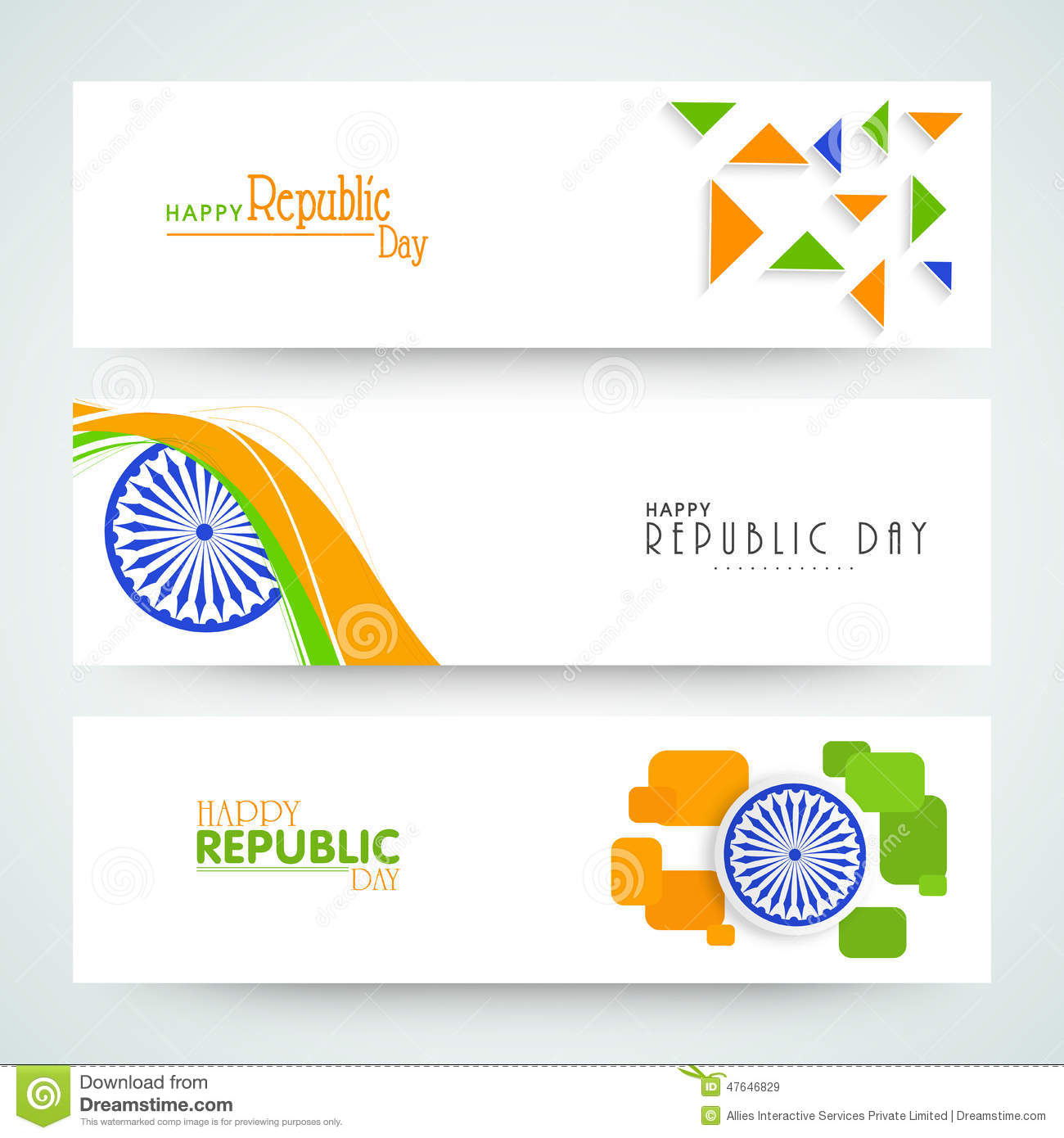 Colors website ashoka - Website Header Or Banner Of Sale With National Flag Colors Royalty Free Stock Images