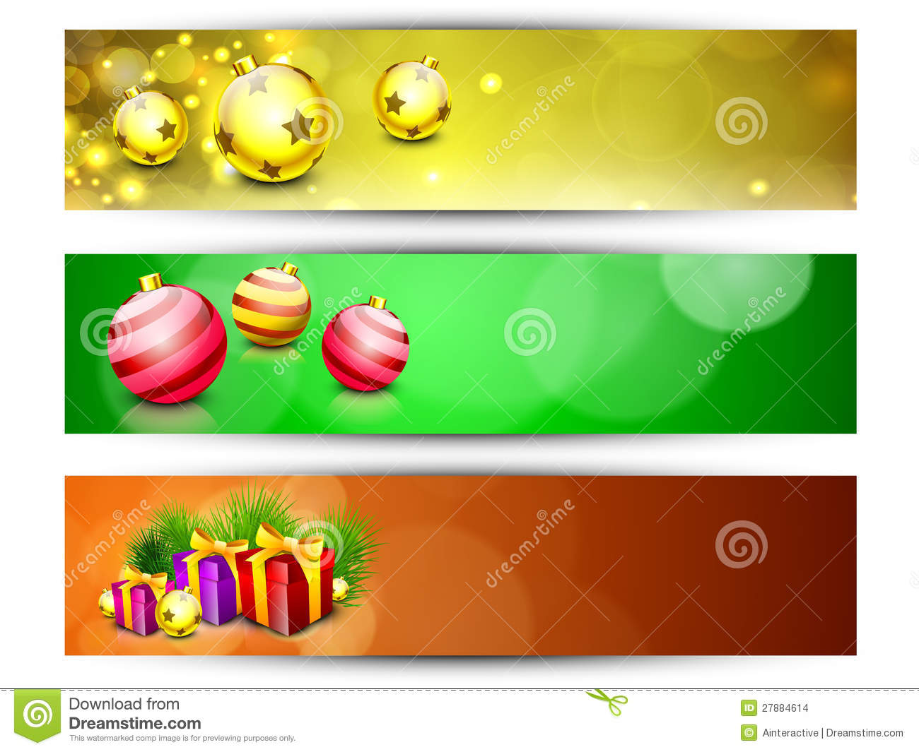 website headers or banners for happy new year