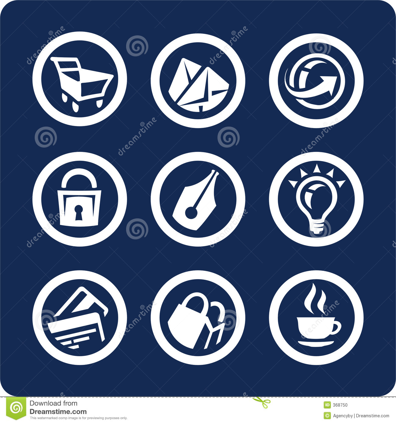 Website and Internet icons (set 2, part 2)