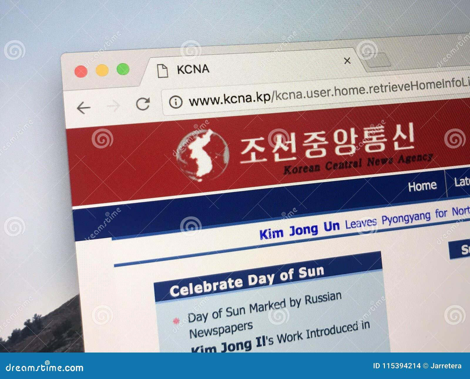 Website Of The Korean Central News Agency - KCNA Editorial