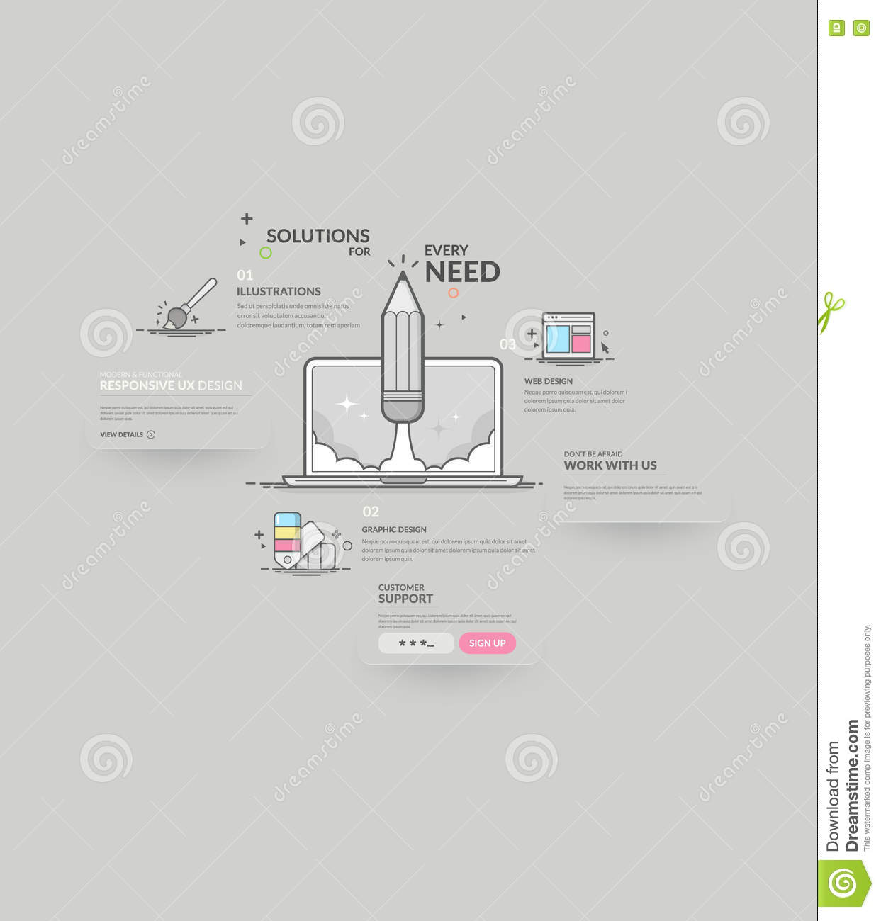 Website navigation elements stock vector illustration of icons download website navigation elements stock vector illustration of icons elements 77258249 ccuart Image collections