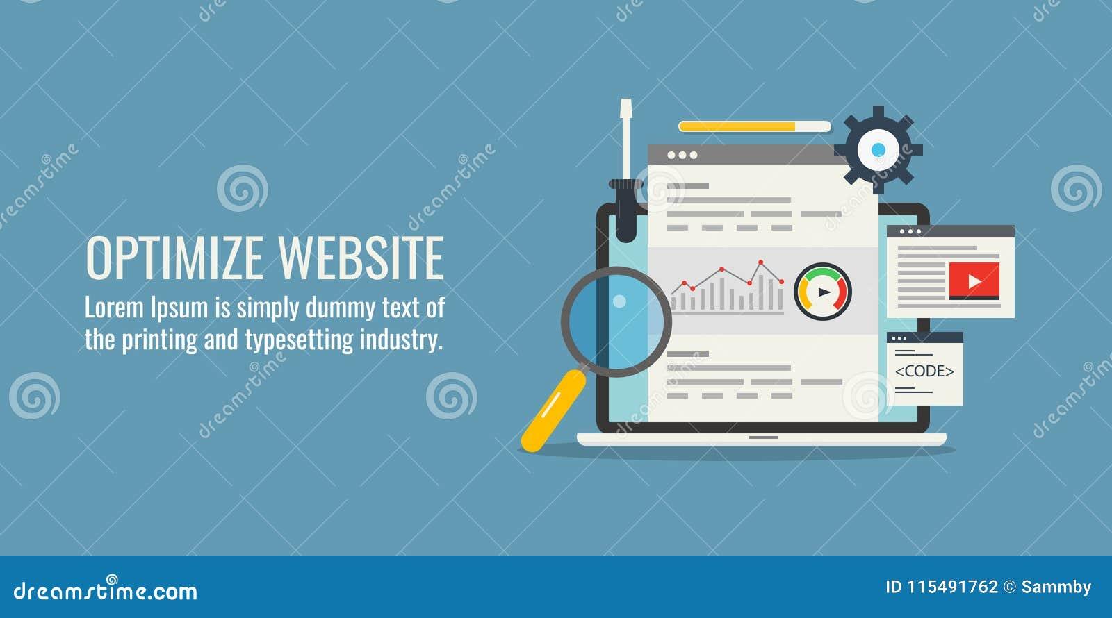 Optimize Website - Website Seo - Responsive Design - High