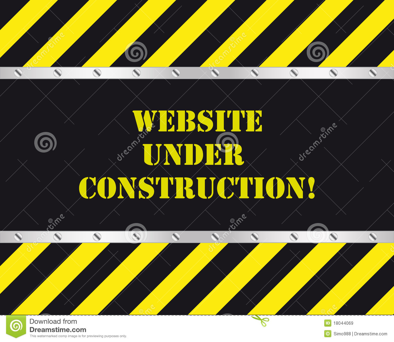 under construction website background template stock illustration 18761872. Black Bedroom Furniture Sets. Home Design Ideas