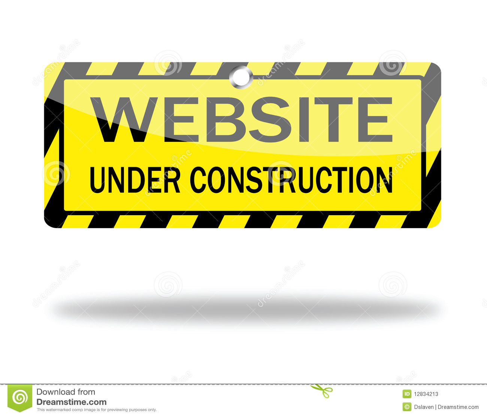 Website Under Construction Vector Stock Vector Illustration Of