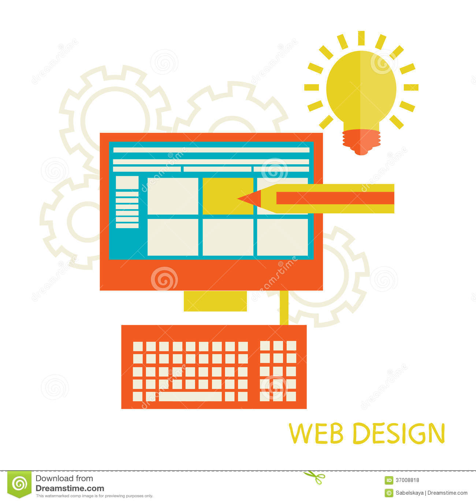 Websitedesignentwicklung