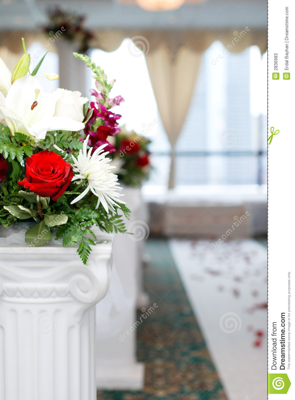 Download Wedding stock image. Image of flowers, married, woman - 2836983