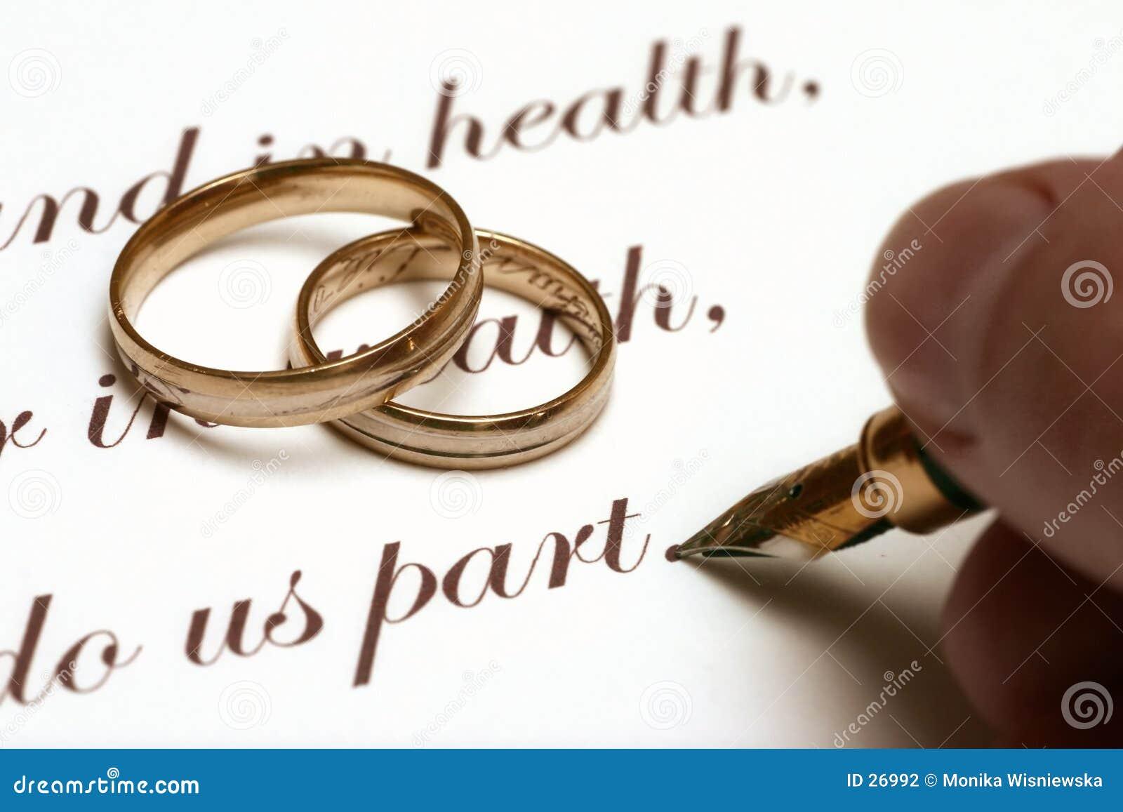 Wedding - alte Art
