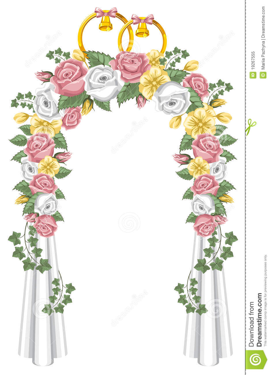 Wedding Arch Royalty Free Stock Photo - Image: 19267555