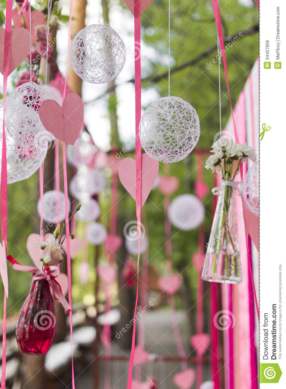 Wedding Arch Decorations Wedding Arch Royalty Free Stock Image Image 34427656