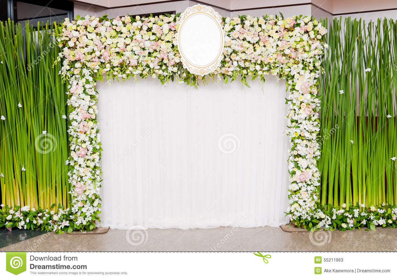 Wedding backdrop stock image image of celebration nature for Background decoration images