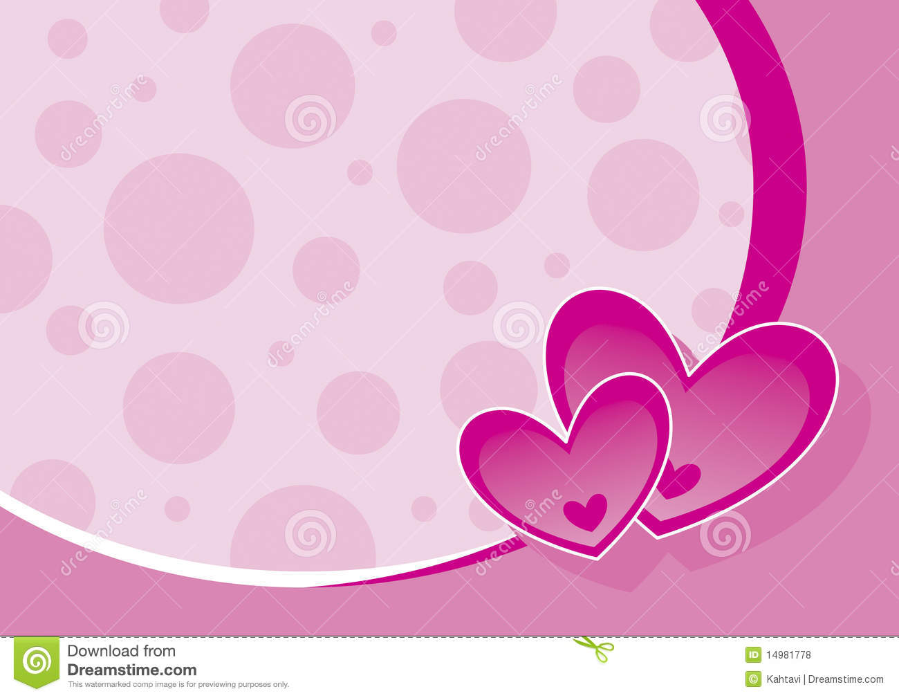 Wedding Background Stock Vector Illustration Of Pink 14981778